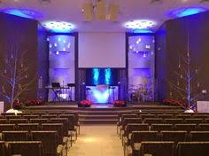Church Stage Christmas Decorations What Wood Jesus Do From Elevate Life Church In Jacksonville Fl