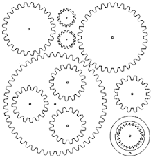 Free Wooden Clock Movement Plans by Gears And Clocks