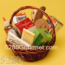 non food gift baskets denver organic fruit coffee tea gift baskets 5280gourmet