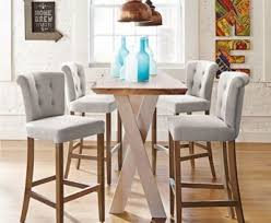high table with stools kitchen bar chairs interior and home ideas