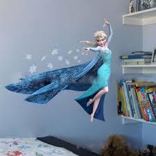 bedroom 3d wall stickers descargas mundiales com queen elsa frozen 3d wall stickers olaf decorative wall decal cartoon wallpaper kids frozen decoration christmas
