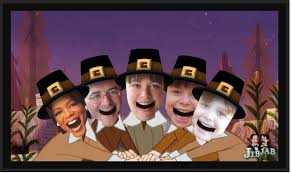 create your own thanksgiving pilgrim song with jibjab for free
