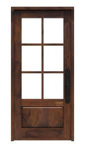 6 Lite Front Door