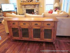how to make a buffet table rustic sideboard buffet table do it yourself home projects