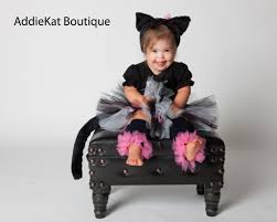 black cat kitty tutu halloween costume