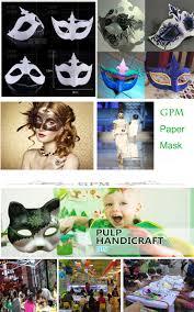 diy white half face mask halloween blank paper zorro mask buy