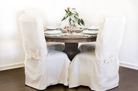 Slipcover For Dining Room Chairs Dining Room Chair Slipcovers Mon Petit Four