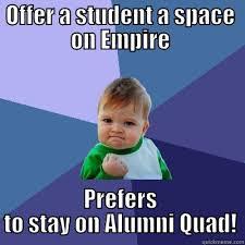 Quad Memes - alumni quad meme quickmeme