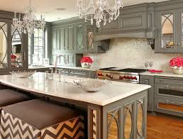 Mirrored Kitchen Cabinets Decorating With 20 Mirrored Furniture In The Kitchen Home Design