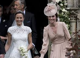 pippa middleton u0027s wedding donna air among worst dressed daily