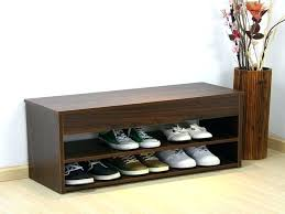 Bench Shoe Storage Entryway Bench With Shoe Storage Entryway Benches Shoe Storage