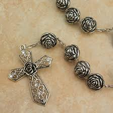 wall rosary oblates our of lourdes wall rosary