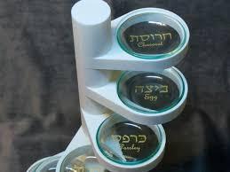passover paper plates 3ders org maker creates modern 3d printed vertical seder plate
