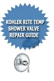 Kohler Shower Faucets Troubleshooting Kohler Rite Temp Shower Valve Repair Guide Asheville Plumber