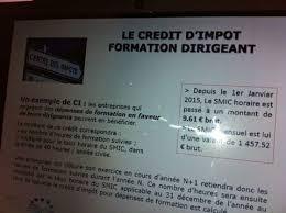 Credit Impot Pour Formation Dirigeant L Actu Juridique Fiscale Sociale Et R礬glementaire Abc D