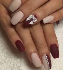 nail acrylic nails view maroon acrylic nails for a season