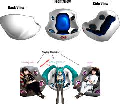 Lumisource Game Chair Furniture Console Gaming Chair Walmart Gaming Chair Gaming