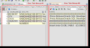 how to view table in sql how to see two tables at the same time in oracle sql developer
