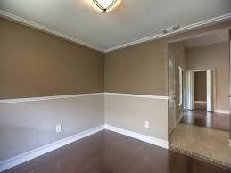 living room dining room paint ideas the two tone wall with chair rail a house a home