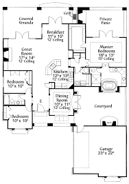 house adobe style house plans