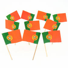 Portugal Football Flag Portugese Flag Toothpicks Portugal Theme Party Decorations