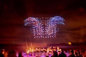 hamburg festival of lights wonderful drone light show aviation blog