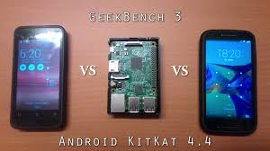 raspberry pi android raspberry pi 2 android 4 4 benchmark geekbench 3