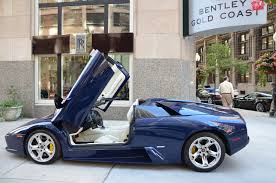 Lamborghini Murcielago Blue - 2005 lamborghini murcielago roadster stock gc1683aa for sale