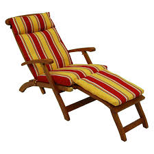 Chaise Lounge Chairs Outdoor Coral Coast Classic 69 X 19 5 In Steamer Chaise Lounge Cushion