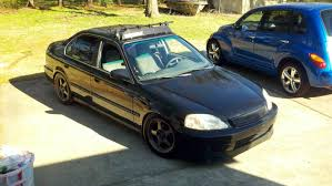 modified cars ideas honda civic deadhead143 1999 honda civiclx sedan 4d specs photos