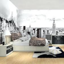 bedroom mural wallpapers for bedroom murals new city photo mural wallpaper for
