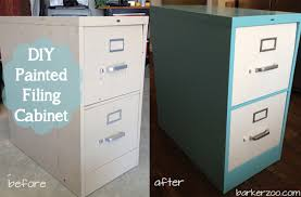 painting metal file cabinets diy painted filing cabinet tutorial aileen barker