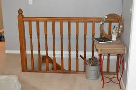 Replace Banister With Half Wall Diwyatt From Rickety Railing To Built In Bookcase Loving Here