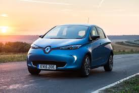 renault twizy blue renault zoe voted best electric car ev performance