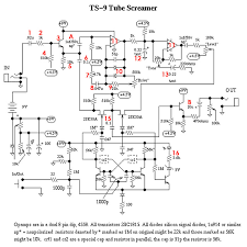 ts9 to ts808 mod schematic ibanez ts808 schematic ibanez tube