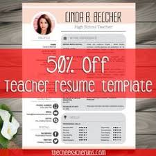 Free Teacher Resume Template Teacher Resume Template Cover Letter References Floral
