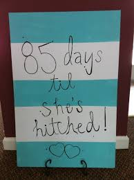wedding countdown for how to make a wedding countdown sign snapguide