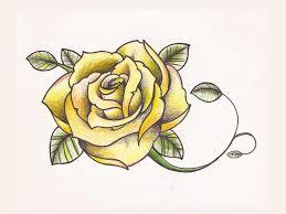 Rose Flower Design Rose Flower Tattoo Design Tattoobite Com