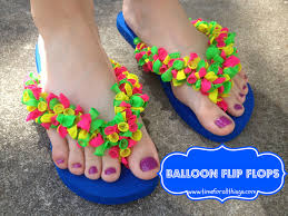 yarn tied embellished flip flops u2014 crafthubs diy pinterest