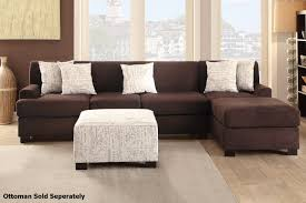 Sectional Sofa Sets Nia Brown Fabric Sectional Sofa A Sofa Furniture Outlet