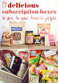 food gifts by mail 19 food and booze subscription boxes that make awesome gifts box