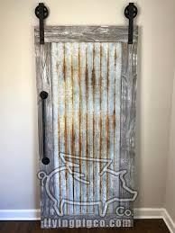 distressed metal doors flying pig co