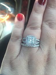 real engagement rings real engagement rings princess diamonds weddingbee