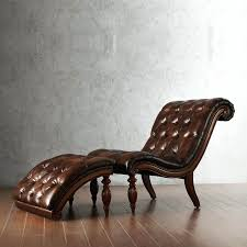Leather Chaise Lounge Chaise Lounges Brown Leather Chaise Lounge Chair Overstuffed