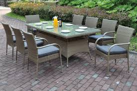 9 Piece Wicker Patio Dining Set - outdoor dining u2013 west coast furniture outlet store