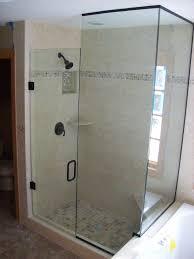 Oil Rubbed Bronze Frameless Shower Door by Shower Doors Midland Glass