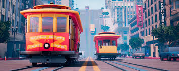 Cable Car Map San Francisco Creating A Stylized Vision Of San Fransisco