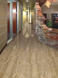 locking travertine ivory vinyl plank flooring