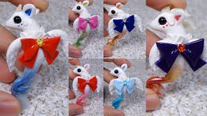 sailor moon inspired sea creature mermaids collection polymer