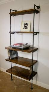 Build A Simple Wood Shelf Unit by 25 Best Wood Shelving Units Ideas On Pinterest Shelving Units